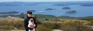 Trueline blog: Diana Carrillo at Acadia National Park