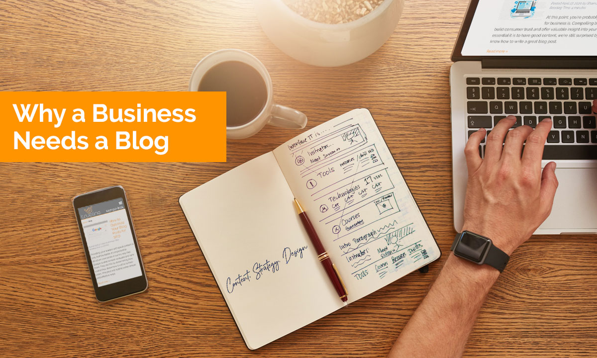 Why a business needs a blog.